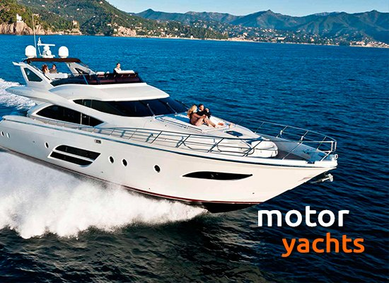 Yacht Charter in Greece - Motor Yachts