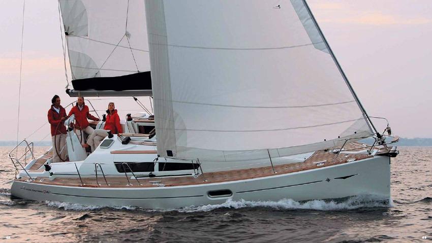 Sun Odyssey 36i_charter