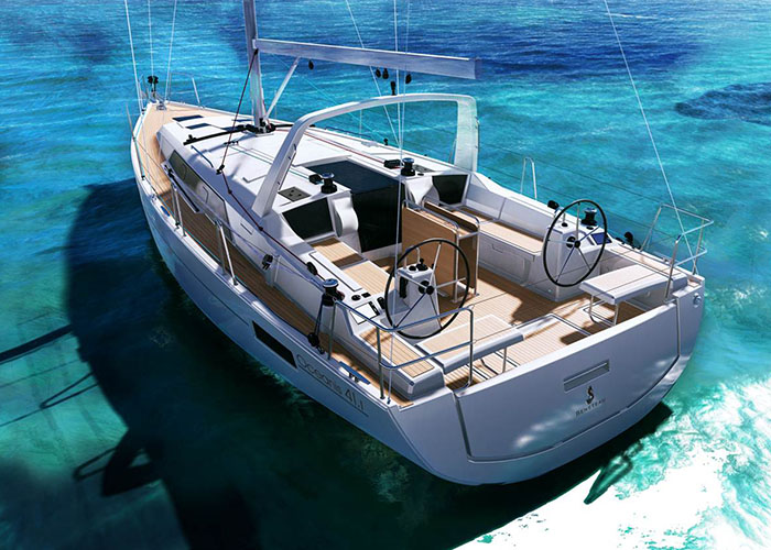 Beneteau 41.1 Outside